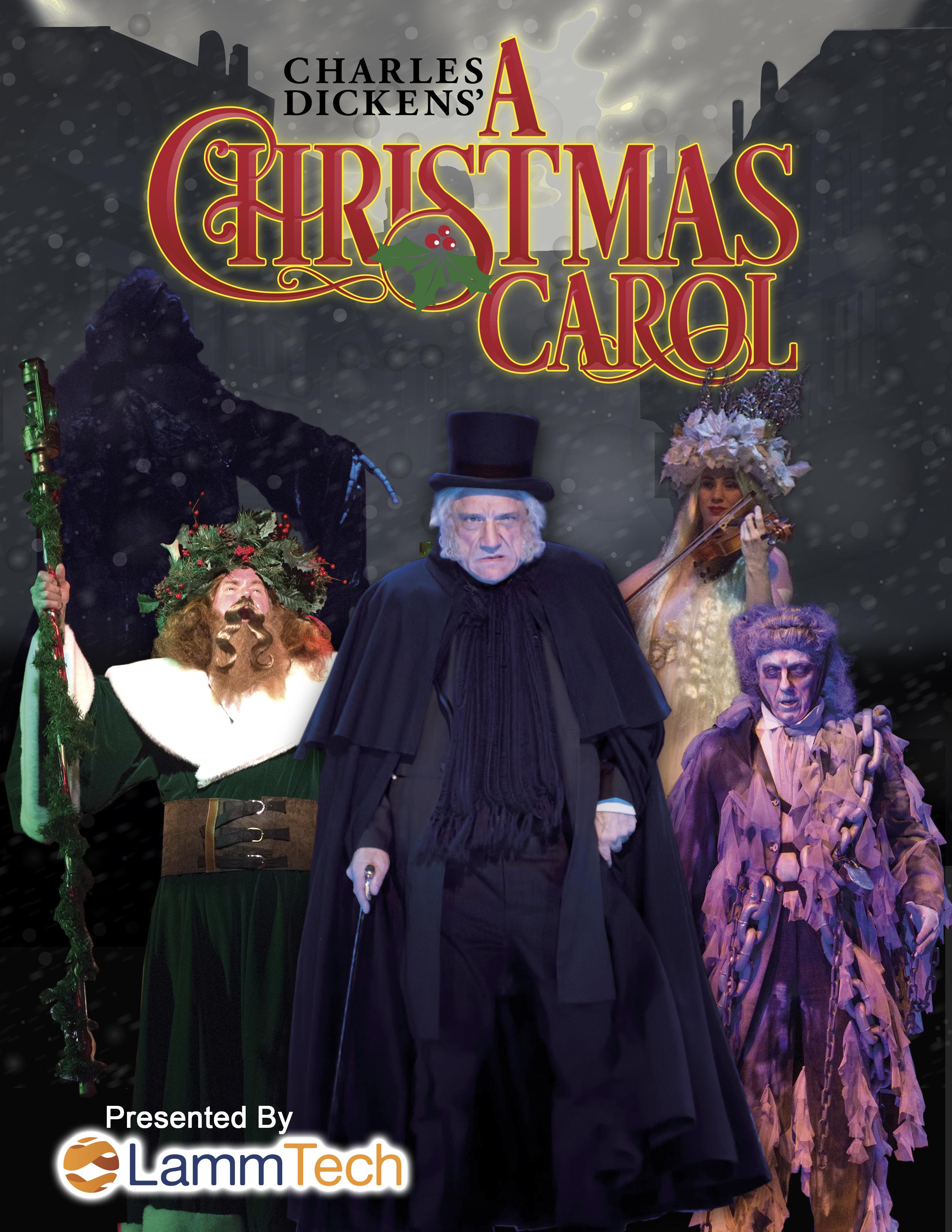 Christmas Caroling Costume.A Christmas Carol