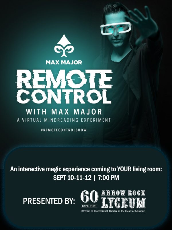WEB poster Max Major